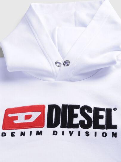 Diesel - SDIVISION OVER, Blanco - Sudaderas - Image 3