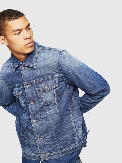 Diesel - NHILL-TW, Blue Jeans - Chaquetas de denim - Image 6