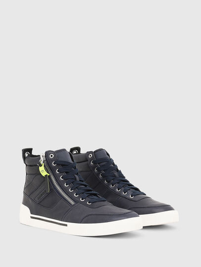 Diesel - S-DVELOWS, Azul Oscuro - Sneakers - Image 2