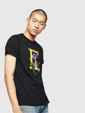 T-DIEGO-B3, Negro - Camisetas