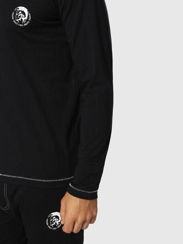 Diesel - UMLT-JUSTIN, Negro - Camisetas - Image 3