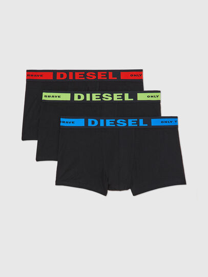 Diesel - UMBX-KORYTHREEPACK, Negro - Boxers - Image 1