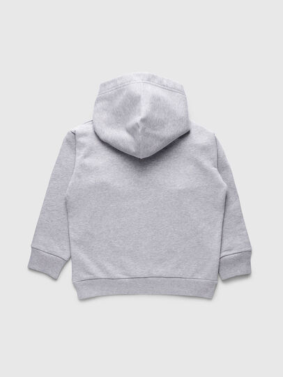 Diesel - SDIVISION OVER, Gris - Sudaderas - Image 2