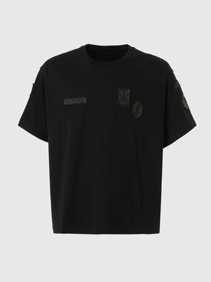 T-CROLF, Negro - Camisetas