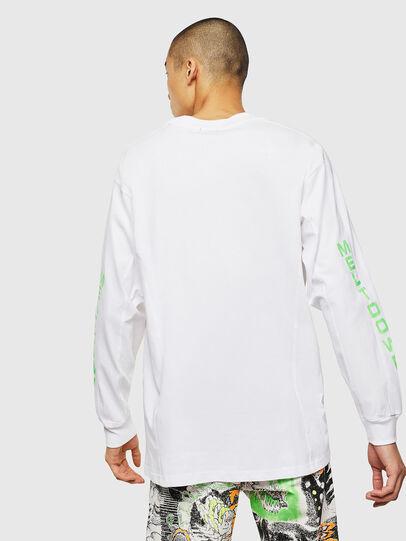 Diesel - T-GLYNIS-J1, Blanco - Camisetas - Image 3