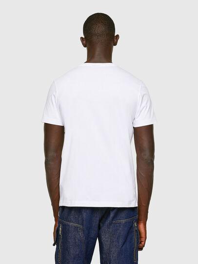 Diesel - T-DIEGOS-K16, Blanco - Camisetas - Image 3
