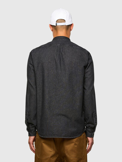 Diesel - D-BILLY, Negro - Camisas de Denim - Image 2