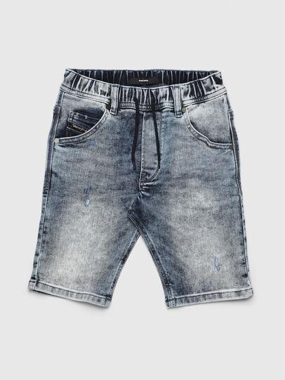 Diesel - KROOLEY-NE-J SH, Azul Claro - Shorts - Image 1