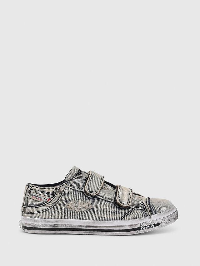 Diesel - SN LOW 11 STRAP  DEN, Grey Jeans - Calzado - Image 1