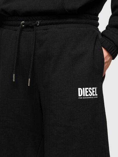 Diesel - P-CROWN-LOGO, Negro - Shorts - Image 3