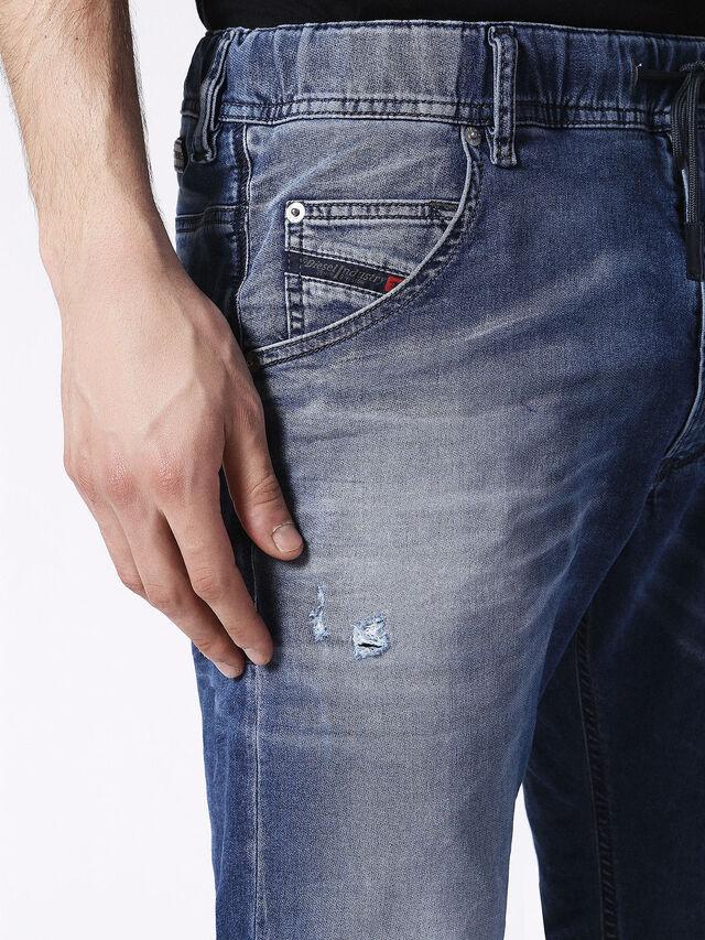 Diesel - KROOLEY JOGGJEANS 0683R, Blue Jeans - Vaqueros - Image 4