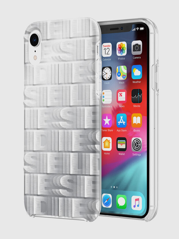 DIESEL PRINTED CO-MOLD CASE FOR IPHONE XR, Blanco - Fundas