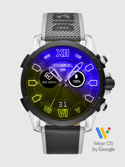 Diesel - DT2012, Gris/Negro - Smartwatches - Image 1
