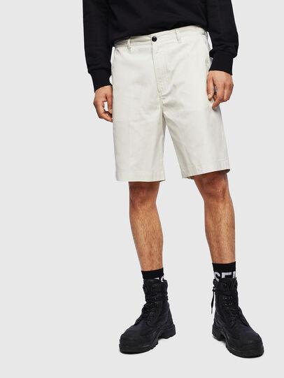 Diesel - P-MATTHEW, Blanco - Shorts - Image 1