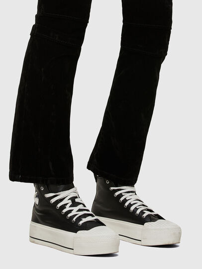 Diesel - D-Earlie JoggJeans® 069UJ, Negro/Gris oscuro - Vaqueros - Image 5