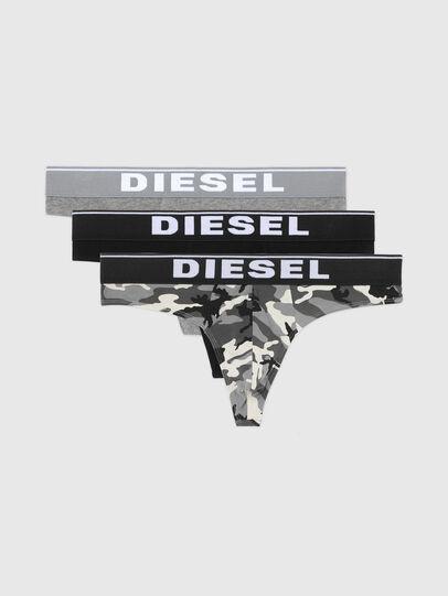 Diesel - UMBR-STRINGTHREEPACK, Gris/Negro - Slips - Image 4