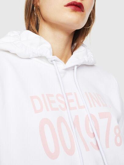 Diesel - F-ANG-HOOD-J1, Blanco - Sudaderas - Image 3