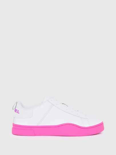Diesel - S-CLEVER LOW LACE W, Blanco/Rosa - Sneakers - Image 1