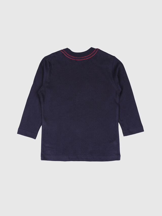 Diesel - TOQUEB-R, Azul Marino - Camisetas y Tops - Image 2