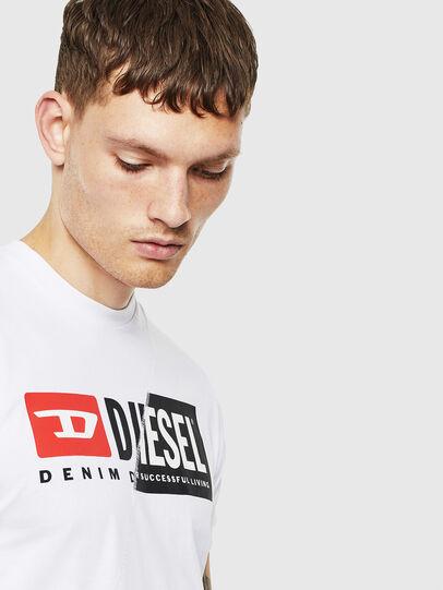 Diesel - T-DIEGO-CUTY, Blanco - Camisetas - Image 5