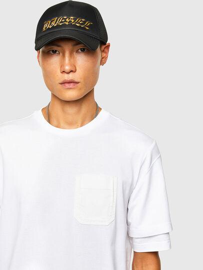 Diesel - T-FONTAL, Blanco - Camisetas - Image 3