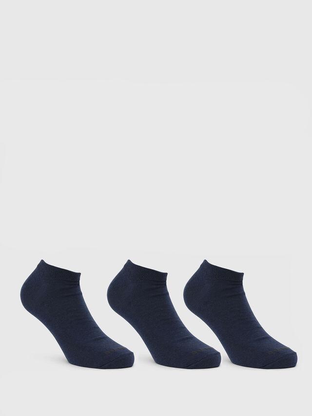 Diesel SKM-GOST-THREEPACK, Azul - Calcetines cortos - Image 1