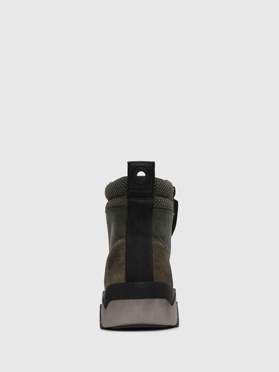 Diesel - S-RUA MID, Verde Oscuro - Sneakers - Image 4