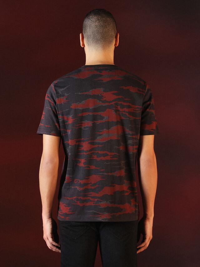 DVL-TSHIRT-CAMU-SPECIAL COLLECTION, Rojo/Negro