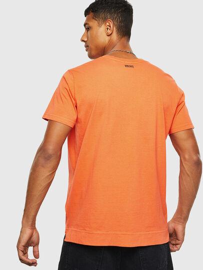 Diesel - T-THEA, Naranja - Camisetas - Image 2