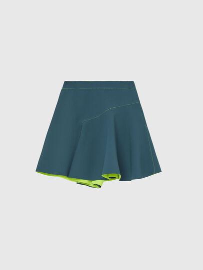 Diesel - S-SPRING, Verde Agua - Shorts - Image 1