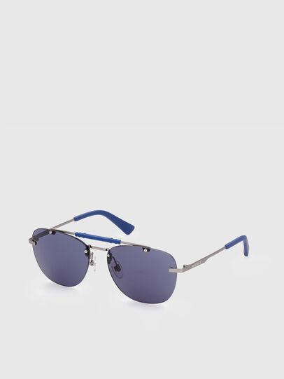 Diesel - DL0340, Azul - Gafas de sol - Image 2
