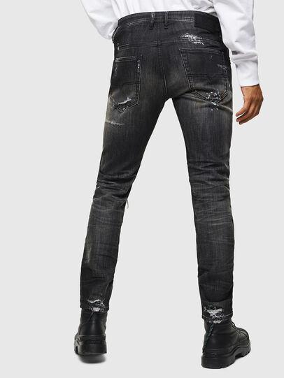 Diesel - Thommer JoggJeans 0098E, Negro/Gris oscuro - Vaqueros - Image 2