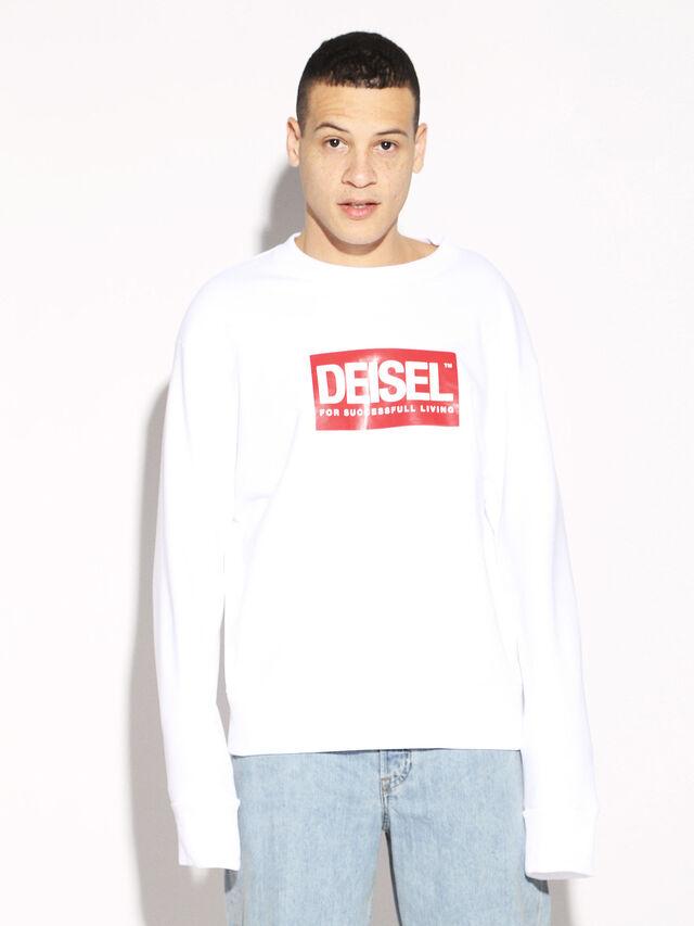 Diesel - DEIS-SGIRO, Blanco - Sudaderas - Image 5