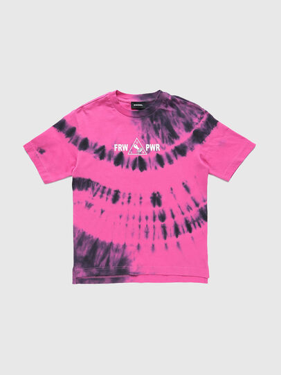Diesel - TJUSTSLITSX86 OVER, Rosa - Camisetas y Tops - Image 1