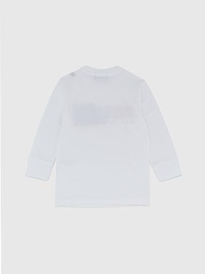 Diesel - TDIEGOCUTYB ML-R, Blanco - Camisetas y Tops - Image 2