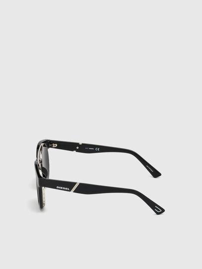 Diesel - DL0251, Negro Brillante - Gafas de sol - Image 3