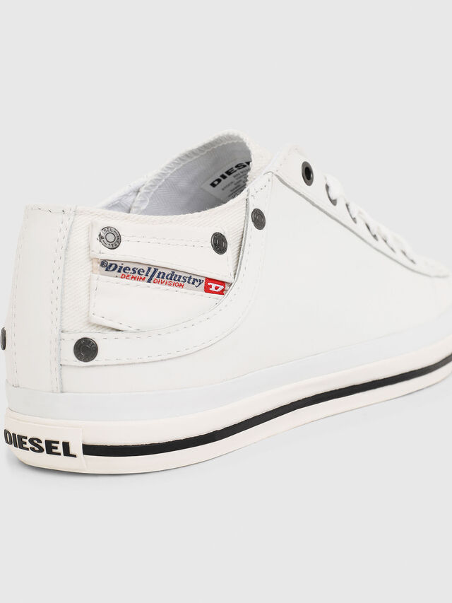 Diesel - EXPOSURE LOW I, Blanco - Sneakers - Image 4
