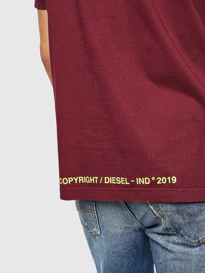 Diesel - T-DIKEL, Burdeos - Camisetas - Image 4