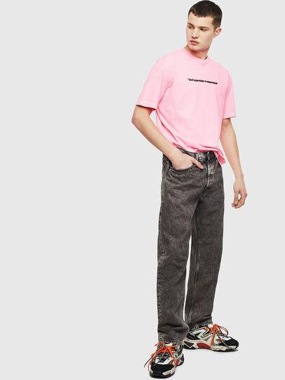 Diesel - T-JUST-NEON, Rosa - Camisetas - Image 8