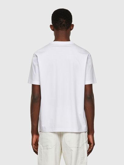 Diesel - T-JUST-WORKY, Blanco - Camisetas - Image 2