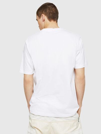 Diesel - T-JUST-COPY, Blanco - Camisetas - Image 2