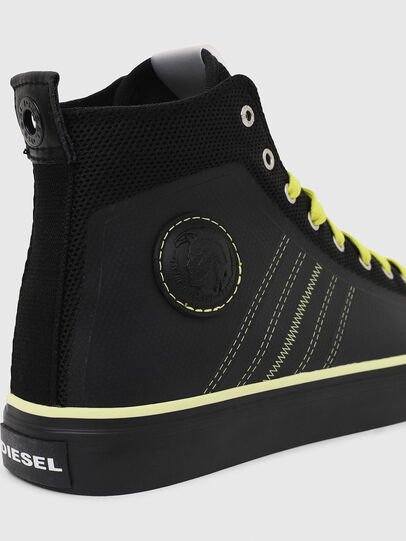 Diesel - S-ASTICO MC H, Negro/Amarillo - Sneakers - Image 5