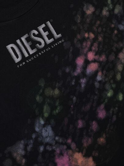 Diesel - TJUSTA40 OVER, Negro - Camisetas y Tops - Image 3