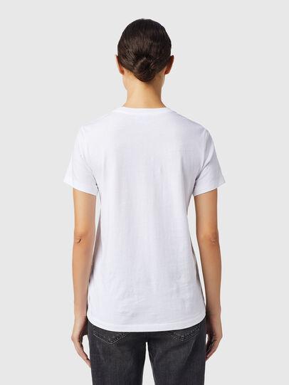 Diesel - T-SILY-B6, Blanco - Camisetas - Image 2