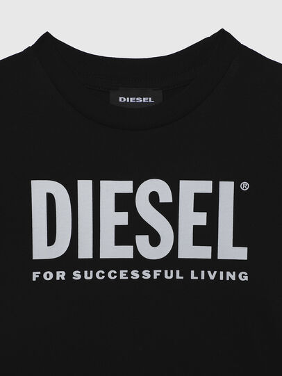 Diesel - TJUSTLOGOB-R, Negro - Camisetas y Tops - Image 3