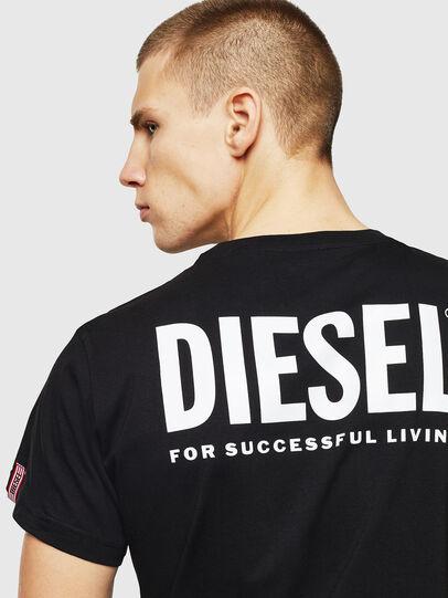 Diesel - LR-T-DIEGO-VIC, Negro - Camisetas - Image 5
