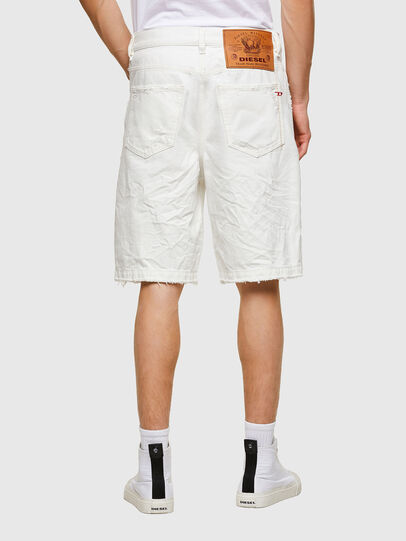 Diesel - D-MACS-SHORT, Blanco - Shorts - Image 2