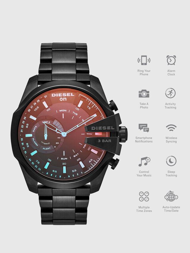 Diesel - DT1011, Negro - Smartwatches - Image 1