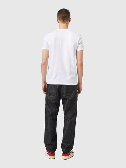 Diesel - T-DIEGOS-K26, Blanco/Rojo - Camisetas - Image 5