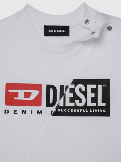 Diesel - TDIEGOCUTYB, Blanco - Camisetas y Tops - Image 3